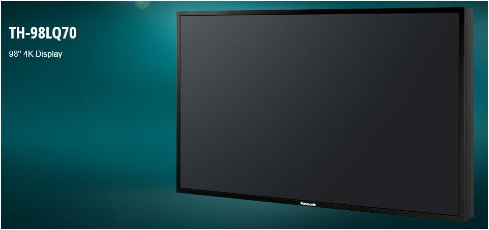 TH-98LQ70 Professional 4K LED Display - Satcom Sales & Services Sdn Bhd