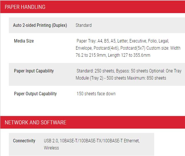Fuji Xerox DocuPrint CP315dw - Satcom Sales & Services Sdn Bhd