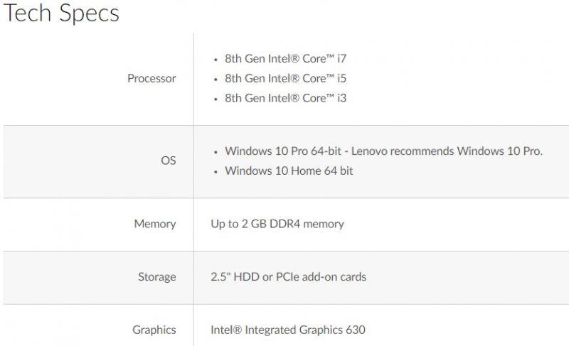 Lenovo ThinkCentre M720Q Tiny Desktop - Satcom Sales